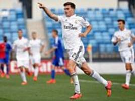 Manchester City and Liverpool keeping tabs on Real Madrid's young Scot Jack Harper