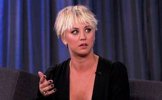 kaley cuoco reacts to her nude photo leak: 'you've gotta make fun of yourself'