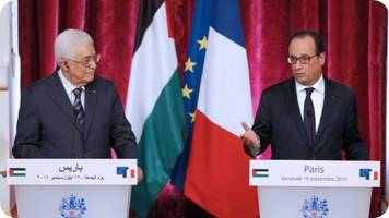 Solution to conflict between Israelis and Palestinians will be put to UNSC: French President